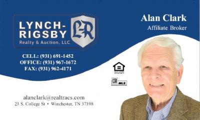 Lynch-Rigsby Realty & Auction - Al Clark